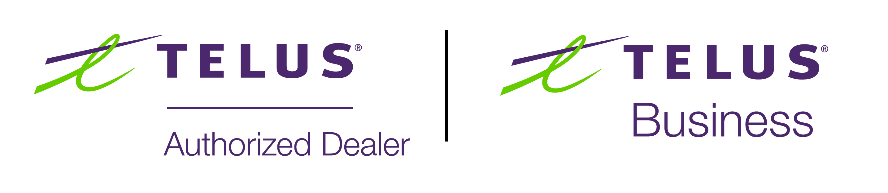 TELUS Authorized Dealer Logo