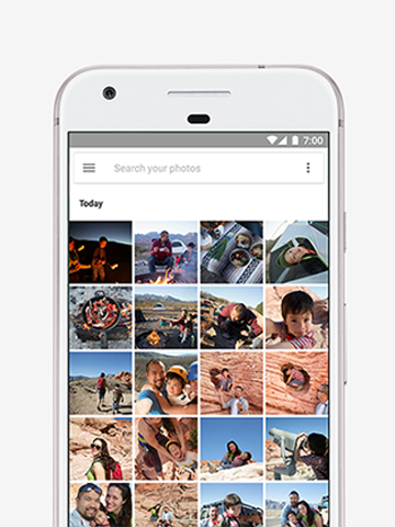 Pixel with Unlimented Storage with Google Photos