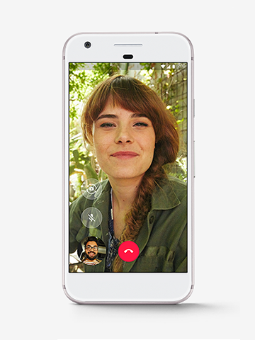 Video calling with Google Due
