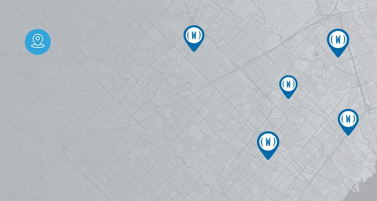 Store Locator Collage