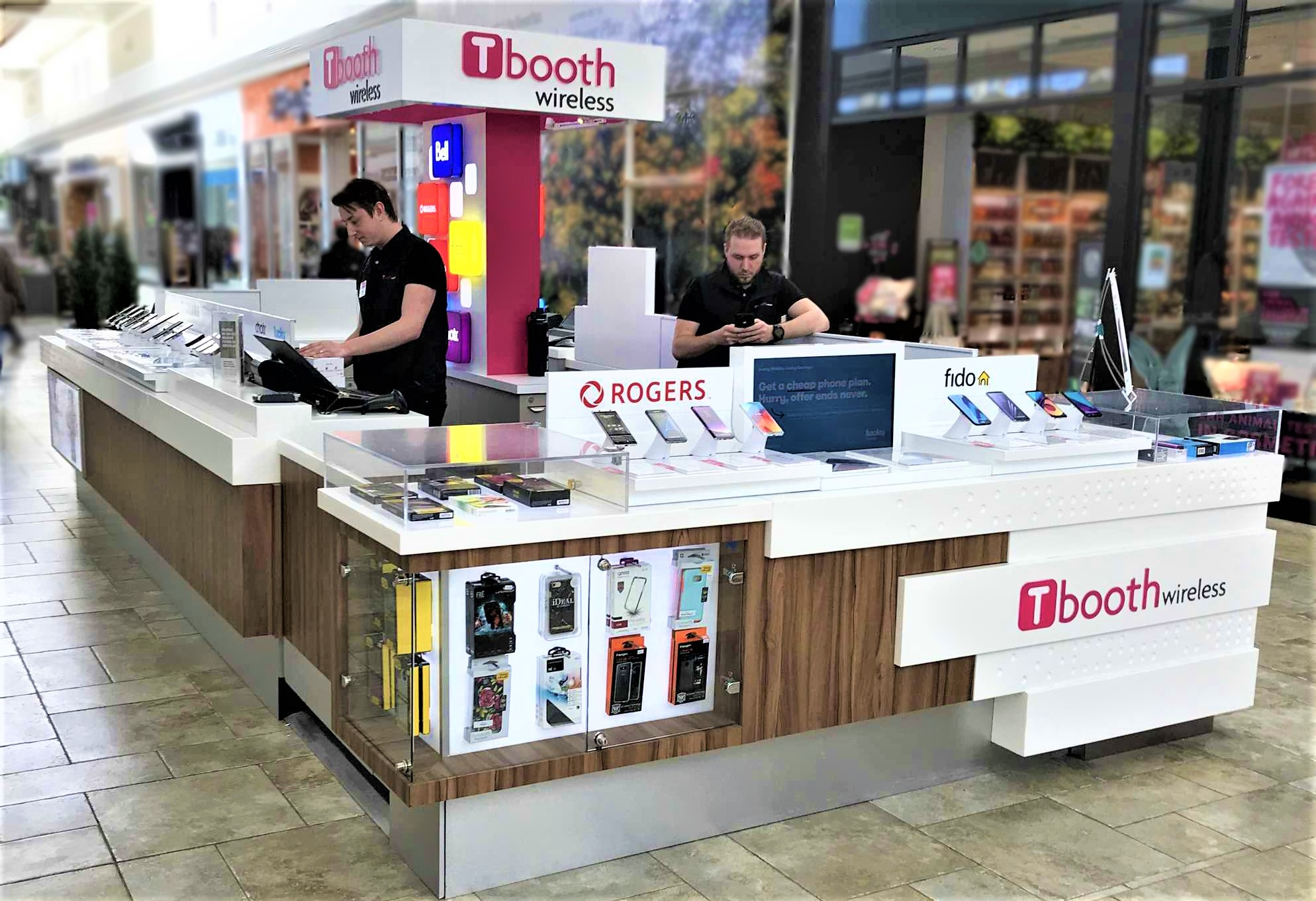 Tbooth Wireless Kiosk