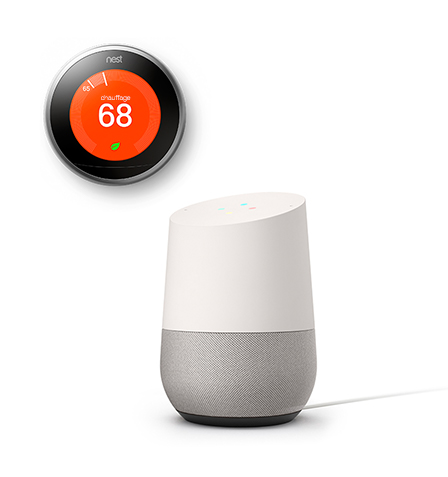 Google Home Connecting to Nest Smart Device