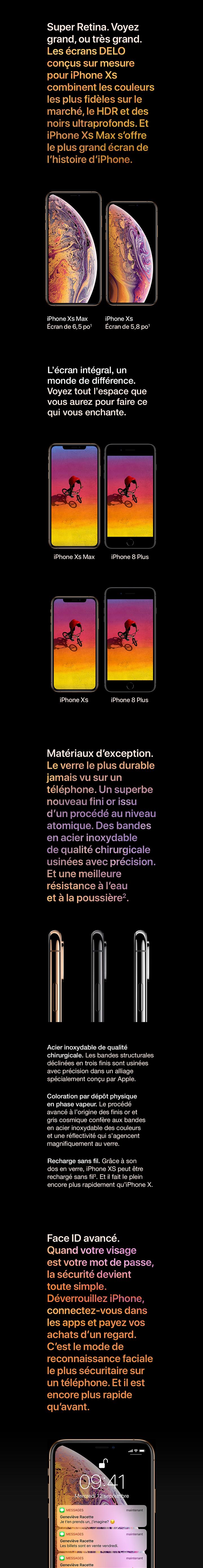 foto de Apple iPhone XS Max prix et caractéristiques